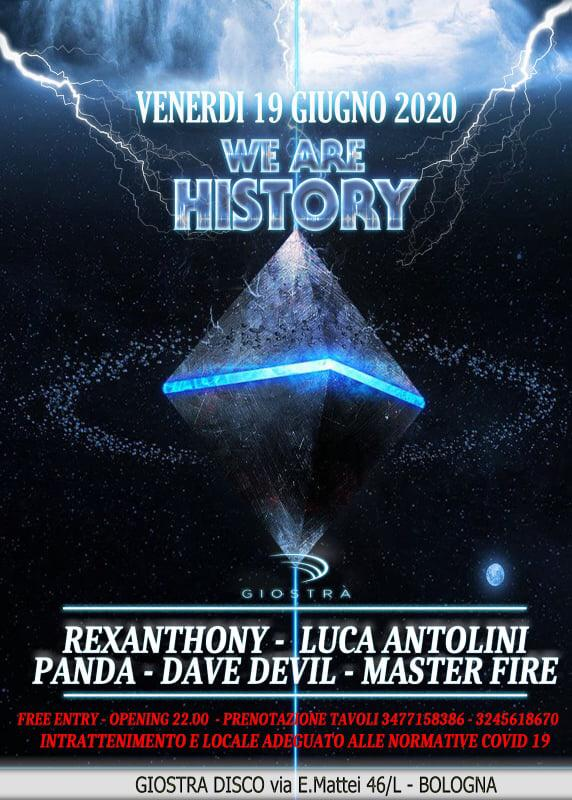 We are History